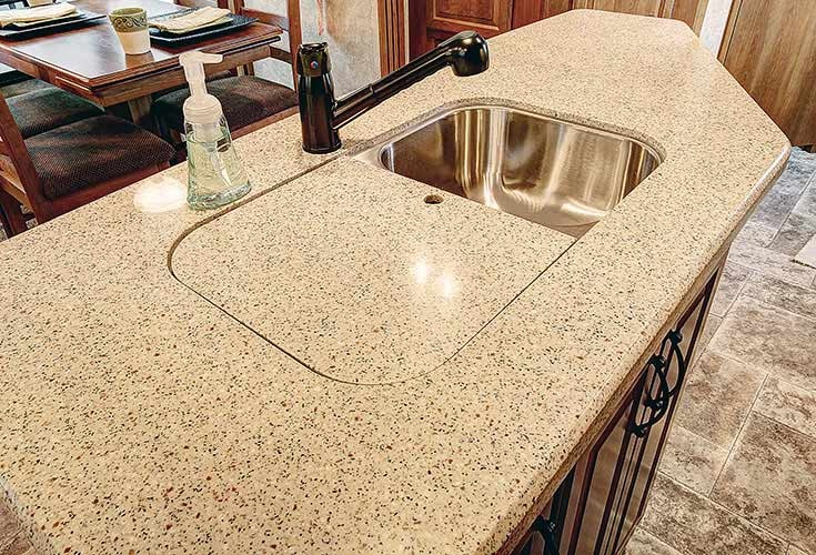 Rv Countertop Options : ... ideas kitchen ideas forward keystone rv image of corian countertop