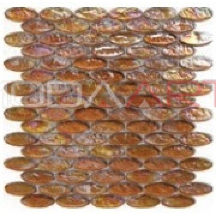 CA-029 Elipse Modaarts Mosaic  Kristal Cam Mozaikler