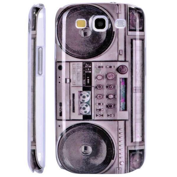 Radio print hoesje Samsung Galaxy S3