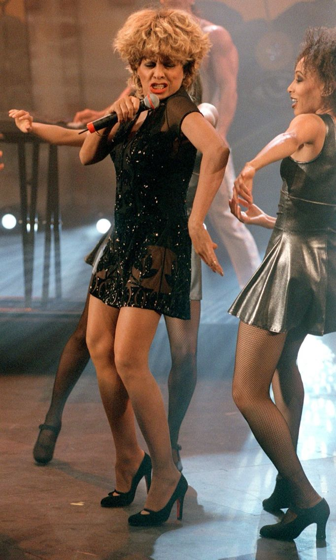 Tina Turner in TV Show 1996