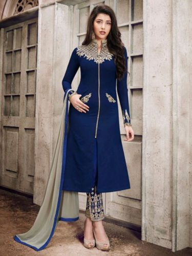 b5cdeb310 Ethnic Indian Pakistani Salwar kameez Bollywood Party Wear Dress Embroidery  Suit