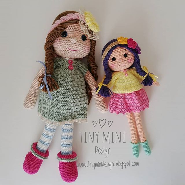 Part2: AMİGURUMİ Olivia BEBEK (25 cm) FULL TARİF ( DOLL PATTERN ... | 640x640