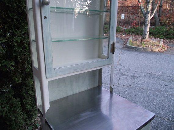Bathroom Storage Furniture Antique Dental Cabinet by BmadeNEW, $700.00