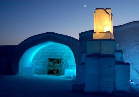 Icehotel in Jukkasjärvi, Swedish Lapland