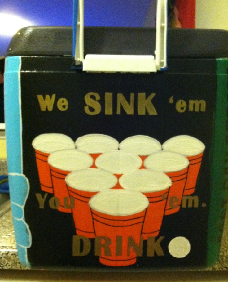 My Theta Chi formal cooler <3 Alpha Gamma Delta, UK