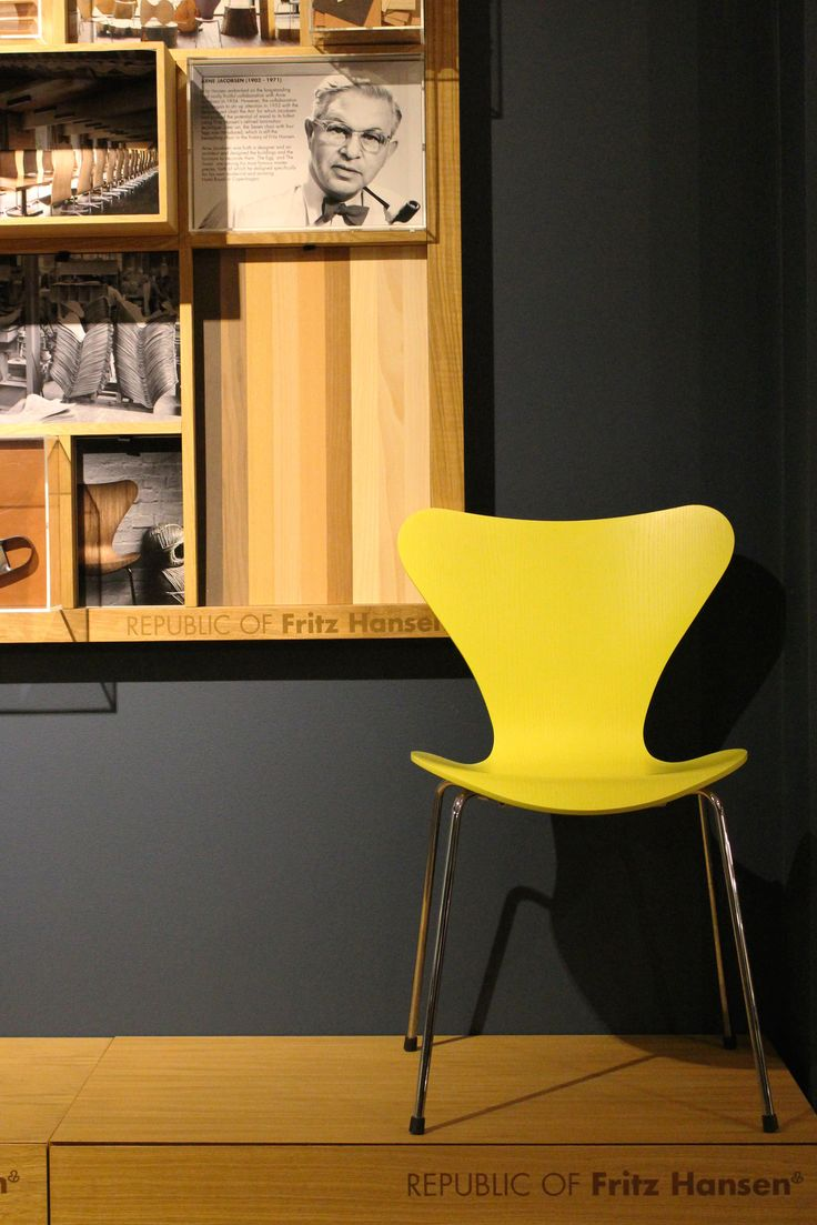 Cult | Sydney showroom featuring Series 7 chair designed by Arne Jacobsen for Fritz Hansen.