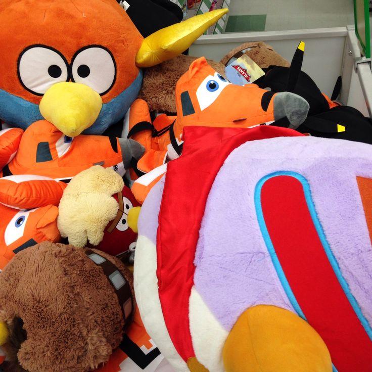 Angry Birds Starwars plushies
