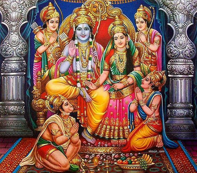 https://flic.kr/p/7K6xFu | Ram Darbar | check out my Durga Maa videos at: www.youtube.com/durgadevotee