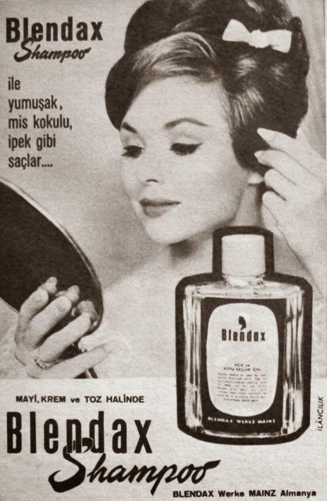 OĞUZ TOPOĞLU : blendax şampuan 1963 nostaljik eski reklamlar