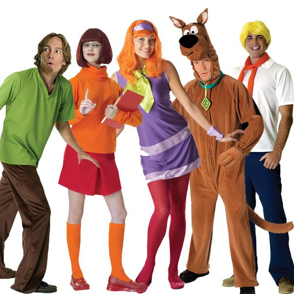 scooby doo halloween costumes in all sizes and for all members of your family want - Best Halloween Costumes For The Office