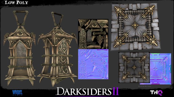 Darksiders 2 Environment Art - Page 3 - Polycount Forum