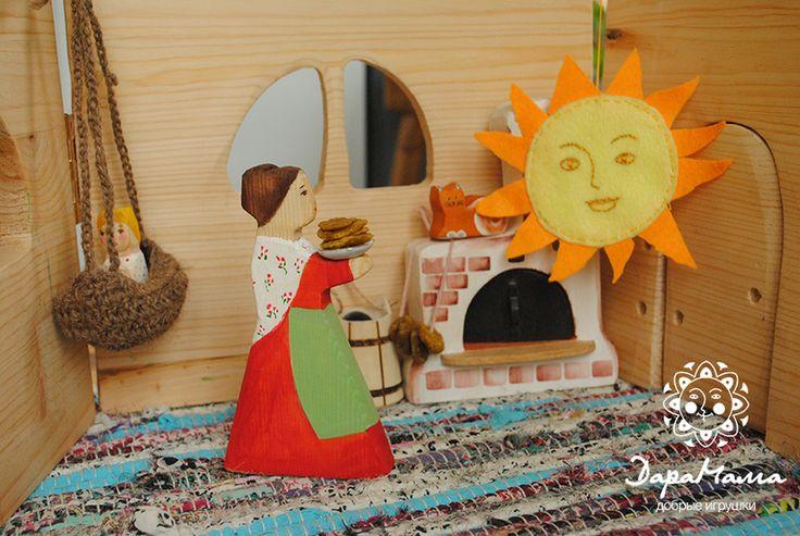 """кукольный спектакль """"Солнце и блины"""". от пользователя «DaraBek» на Babyblog.ru"""