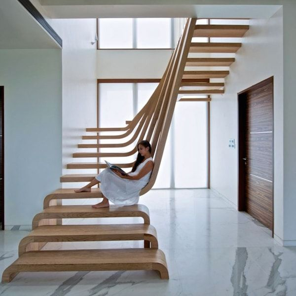 25  Stunningly Designed Staircases That Are a Step Above All the Rest