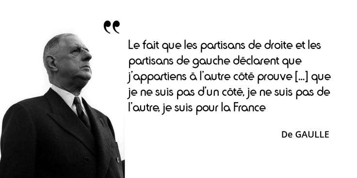 Aujourd'hui sur notre site : les #partis politiques, vus et vécus par de Gaulle