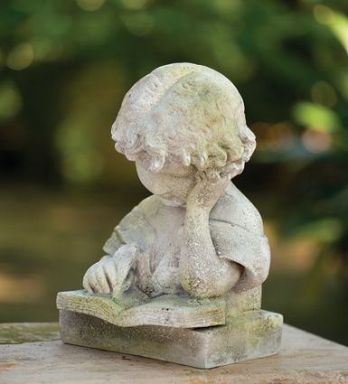 The Writer   Garden Accents and Statuary,Statuary   Charleston Gardens® - Home and Garden Collection Classic outdoor and garden furnishings, urns & planters and garden-related gifts