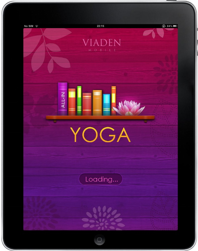 Yoga Free App for iPad - Clickable Demo