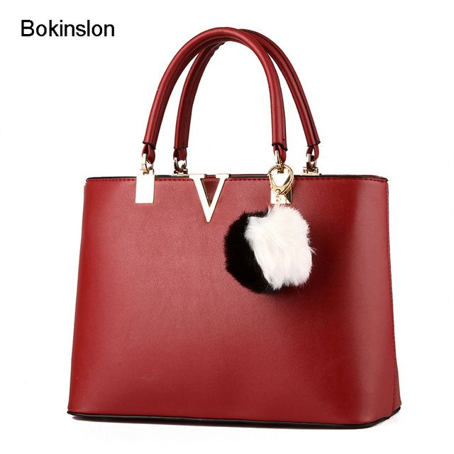 Fair price Bokinslon Woman Crossbody Bags PU Leather Fashion Handbag Bags Women Luscious Solid color Ladies Popular Handbags  just only $24.74 with free shipping worldwide  #womantophandlebags Plese click on picture to see our special price for you