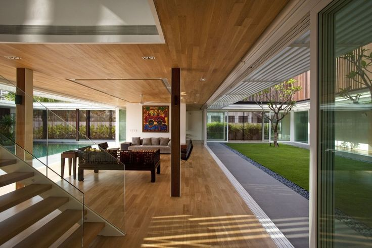 Enclosed Open House by Wallflower Architecture   Design (14)