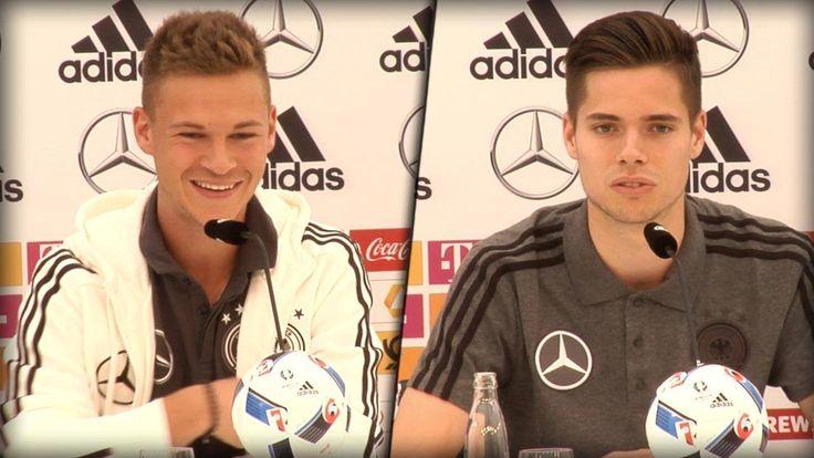 Irgendwie süß!  Joshua Kimmich und Julian Weigl sind immer noch ganz hin und weg nach ihrer Nominierung.  Und der Bayern-Profi stellt klar: Jetzt will er auch mehr!