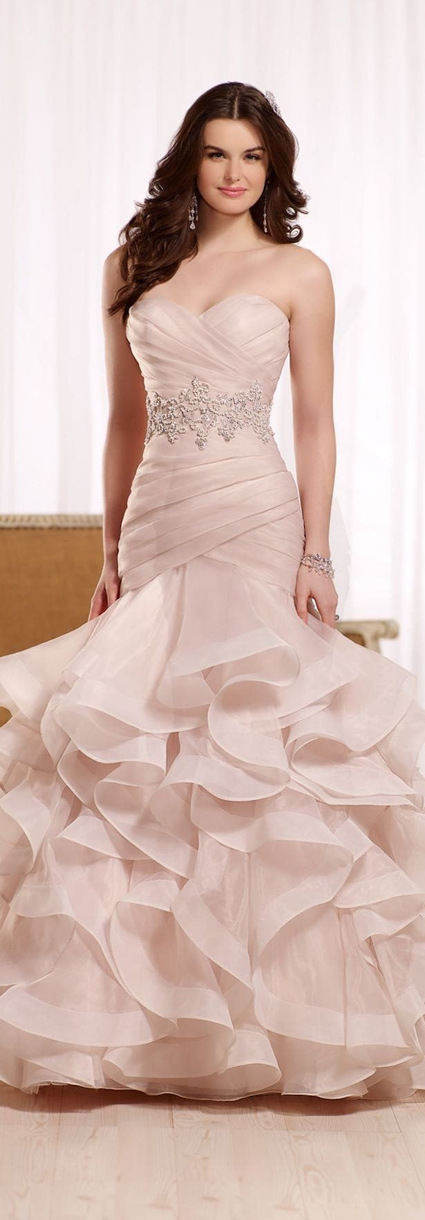 Mejores 2421 imágenes de Wedding Dresses en Pinterest | Vestidos de ...