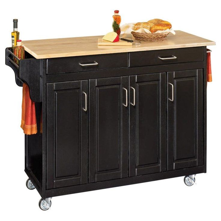 Home Styles Large Create-a-Cart Kitchen Island Wood - 9200-1041