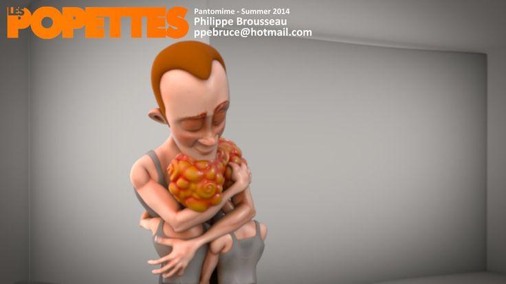 LES POPETTES - SUMMER 2014 - Philippe Brousseau - Pantomime | Squeeze Studio Animation