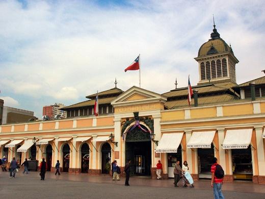 Mercado Central-Santiago