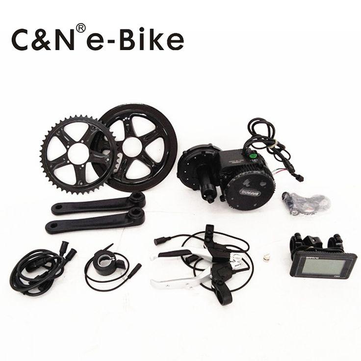 48v 500w Mid Drive Motor Electric Bike Kit BAFANG Sale