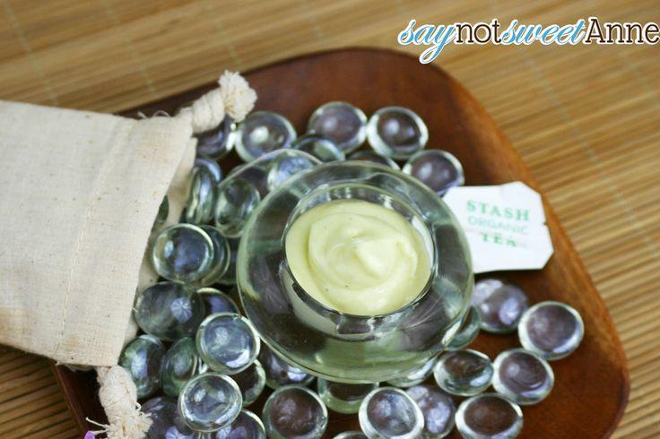 Green Tea Repairing Face Cream Recipe - Sweet Anne Handcrafted Designs