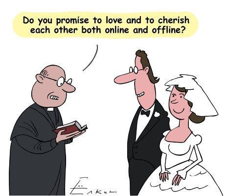 Wedding Vows In The Digital Age Weddings Humor