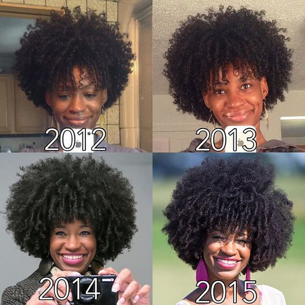 natural 4b 4c hair journey by @nappyhairnation