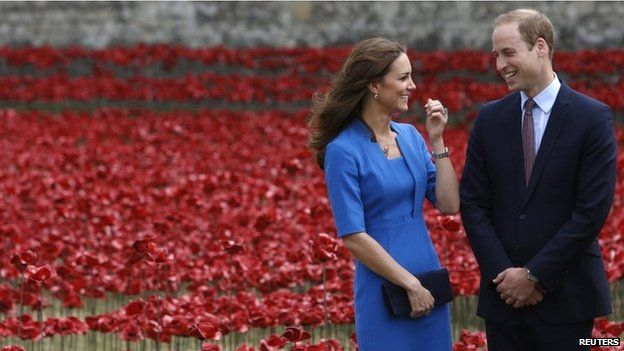 """Kate Middleton & Prince William at the Tower of London. Duchess of Cambridge's second baby due in April The Duke and Duchess of Cambridge are expecting their second child in April next year, Kensington Palace has said. The pregnancy had already been announced but the due date had not been released. In a statement, the palace said the Duchess continued to suffer from extreme morning sickness but her condition was """"steadily improving"""". #DuchessOfCambridge #KateMiddleton #PrinceWillian #UK…"""