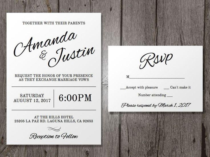 23 best Wedding Planning Kelly \ Matthew images on Pinterest - best of wedding invitation maker laguna