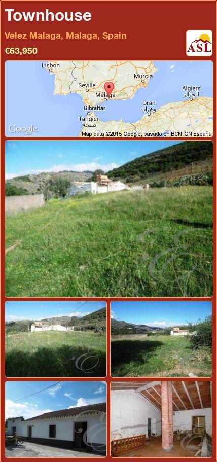 Townhouse in Velez Malaga, Malaga, Spain ►€63,950 #PropertyForSaleInSpain