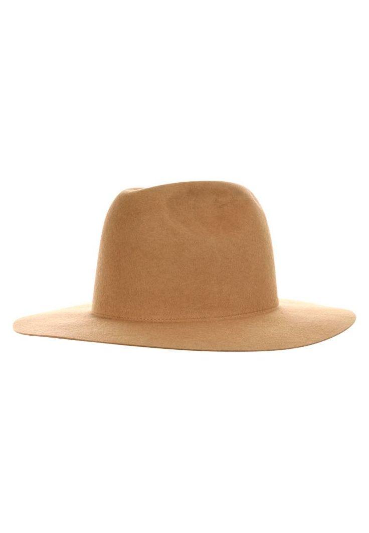 Tiger of Sweden. WILHELMINA  - Cappello - copper brown. #panama #cappelli #cappelliestivi #zalando #fashion Avvertenze:non lavare. Circonferenza:62 cm nella taglia L. Composizione:100% Lana. Fantasia:monocromo