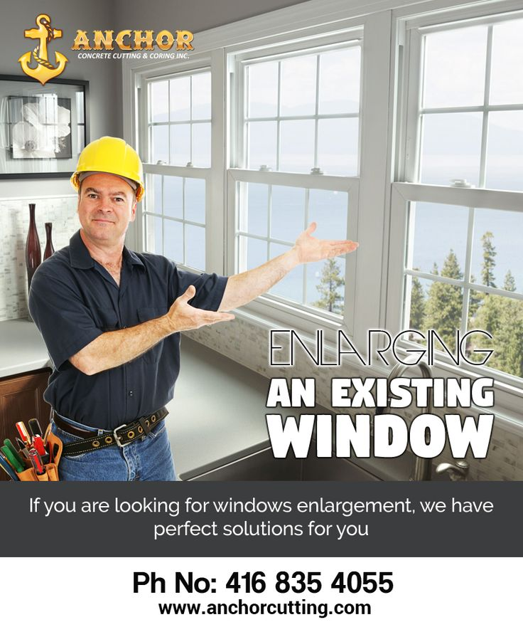 If you are looking for #window_enlarging_service in #Mississauga, then we have perfect solutions for you as we #master these #operations by consistently working on the similar projects for years. Visit anchorcutting.com..!! #WindowEnlargingServicesBrampton #Window_Cutting_Brampton For more information call us:  416-835-4055  Visit: http://www.anchorcutting.com/window-enlarging-services.html