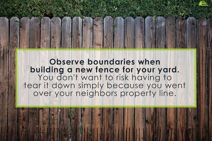 Fencing your backyard? Remember this quick tip before you start building. #SupplyExpert #HomeMaintenceTips #Canada