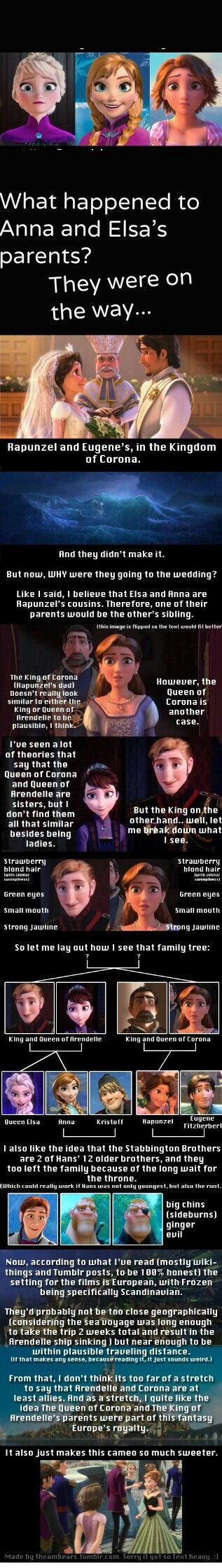 """Disney's """"Tangled"""" and """"Frozen"""" are connected."""