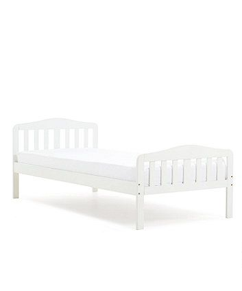 "Perfect for older children who have outgrown their toddler bed and are ready to make the move to a more ""grown up"" single bed, this stylish wooden bed coordinates with the rest of the Darlington furniture collection."