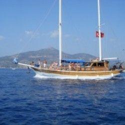 Overnight 1 night 1 day boat trip in Kalkan, Kas Turkey   Holidays in Kalkan Kas Fethiye Turkey