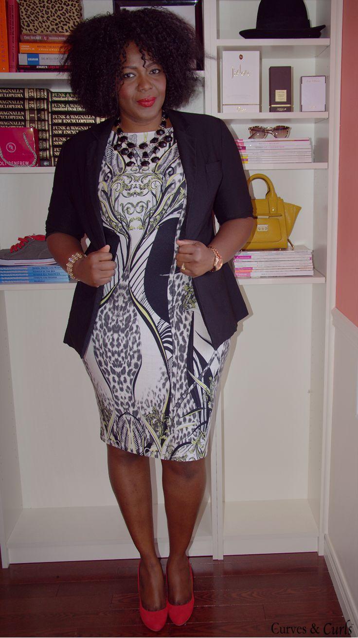 Plus size fashion for women Closet remix: 6 ways to wear a bodycon dress