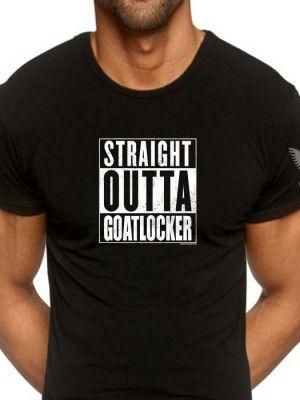 Straight Outta Goatlocker US Navy Chief Shirt