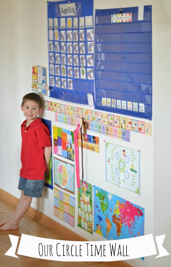 Mother Goose Monday: How I set up our Home Preschool -