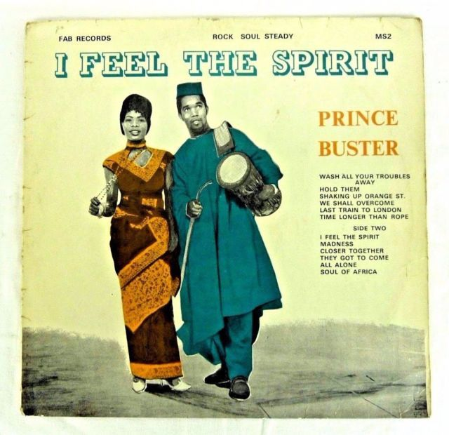 PRINCE BUSTER I FEEL THE SPIRIT (FAB RECORDS MS2 1968)  VINYL LP            #AB# | eBay