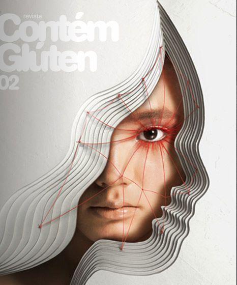 revista contem gluten 2: Design Collection, Posters Design, Graphics Design, Graphics Posters, Front Covers, Posters Typography, Magazines Covers, Covergraph Design, Contém Gluten