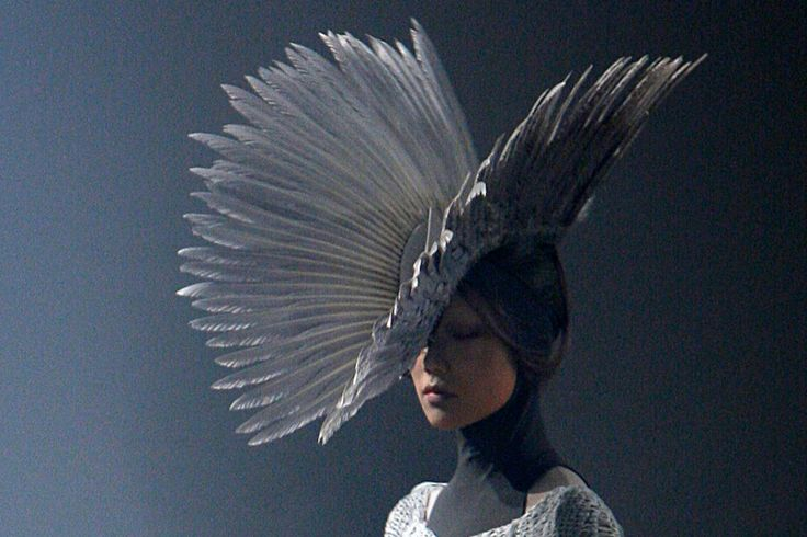 Gareth Pugh Pegasus Headdress