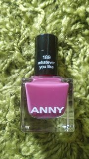 Alles rund um Kosmetik: Nailpolish Anny 189 Whatever you like
