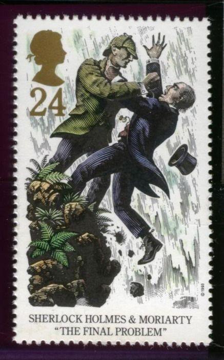 Sherlock Holmes stamp