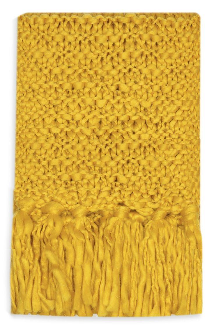 Primark - Écharpe moutarde épaisse