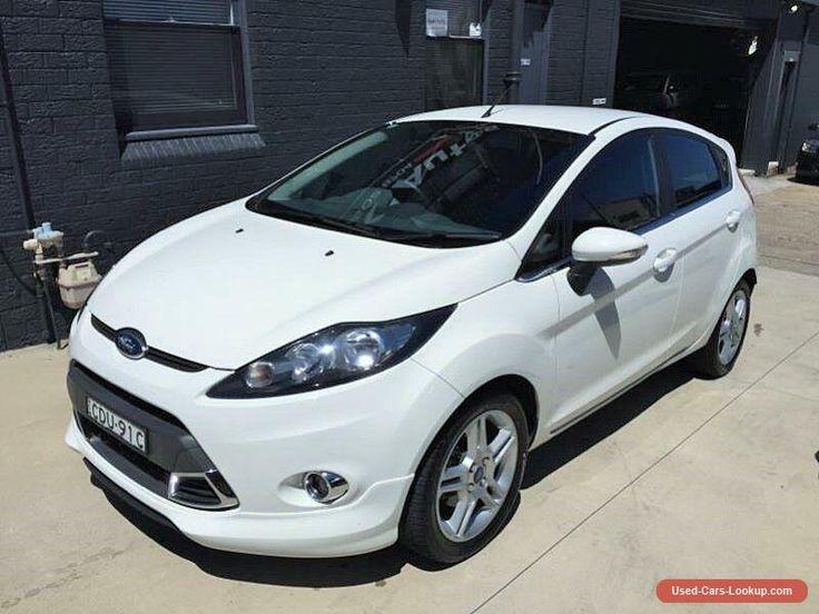 2011 Ford Fiesta WT Zetec White Automatic 6sp A Hatchback #ford #fiesta #forsale #australia